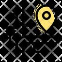 Pin Address Icon