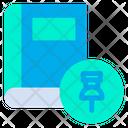 Pin Book Icon