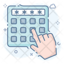 Pin Code Digital Security Enter Pin Icon