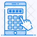 Pin Code Mobile Password Mobile Security Icon