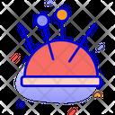 Pin Cushion Needle Pin Icon