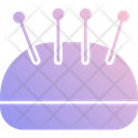 Pin Cushion Needle Holder Pin Keeper Icon
