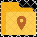 Pin folder Icon