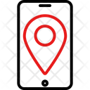 Pin Map Gps Location Icon