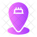 Pin Map Birthday Hobbies And Free Time Icon