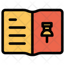 Pin Notebook Icon
