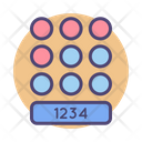 Pin Number Lock Icon