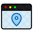 Pin Page Map Pin Icon