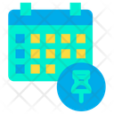 Pin Schedule Icon