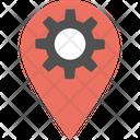 Pin settings Icon