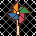 Pin Wheel Pin Wheel Icon