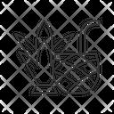 Linear Icon Tropical Icon