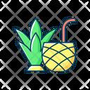 Color Icon Tropical Icon