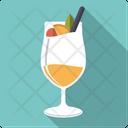 Pinacolada Cocktail Pineapple Icon