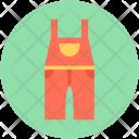 Pinafore Romper Jumpsuit Icon