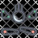 Pinball Arcade Game Dodgeball Icon
