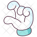 Finger Up Hand Gesture Hand Indicator Icon