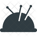 Pincushion Crafts Handcraft Icon