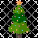 Pine Christmas Tree Icon