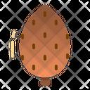 Pine Nut Cone Icon