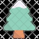 Pine Winter Tree Icon