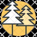 Pine Tree Fir Icon
