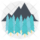 Scenery Forest Pine Icon