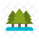 Pine Tree Christmas Tree Tree Icon