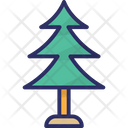 Pine Tree Christmas Tree Forest Icon