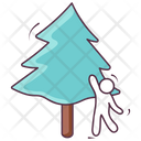 Conifer Tree Evergreen Tree Cedar Tree Icon