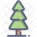 Pine Tree Nature Icon
