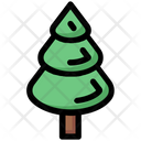 Tree Winter Christmas Icon