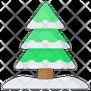 Pine Tree Wood Icon