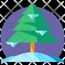 Pine Tree Christmas Icon