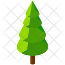 Oak Pine Tree Icon