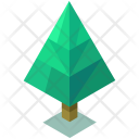 Pine Oak Tree Icon