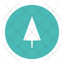 Pine Tree Black Icon