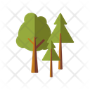 Pine Trees Trees Nature Icon