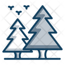 Pine Trees Nature Conifer Icon