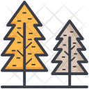 Fir Trees Larch Icon