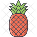 Pineapple Fruit Cooking Icon