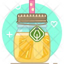 Pineapple Smoothie Drink Icon