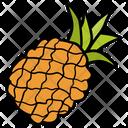 Pineapple Ananas Comosus Ananas Icon