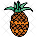 Pineapple Fruit Healthy Icon