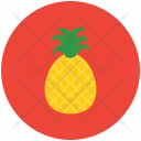 Pineapple Tropical Ananas Icon