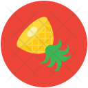 Pineapple Tropical Healthy Icon