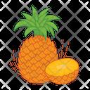 Pineapple Fruit Fresh Icon
