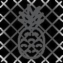 Pineapple Fruit Ananas Icon