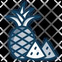 Pineapple Comosus Ananas Icon