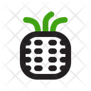 Pineapple Fruit Food Icon